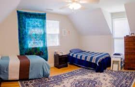 arts district home bedroom
